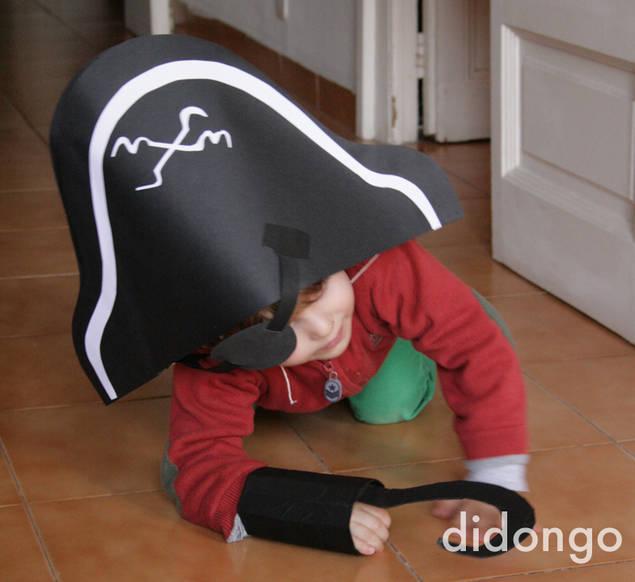 Disfraz casero de pirata   Didongo