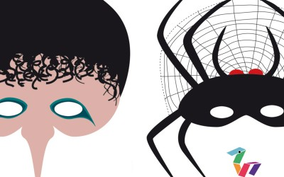Mascaras imprimibles para Halloween