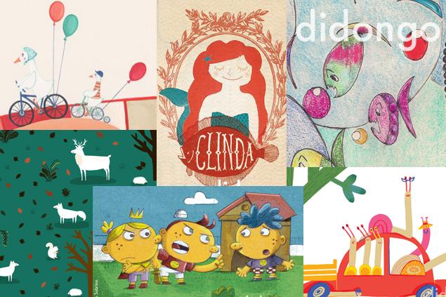 Didongo y las ilustraciones infantiles
