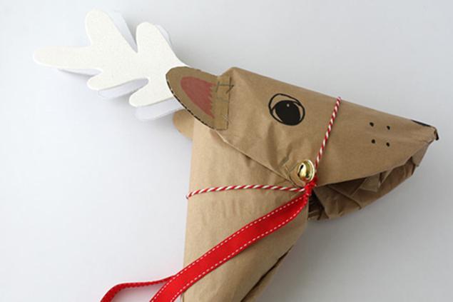 Un reno para galopar hacia la Navidad