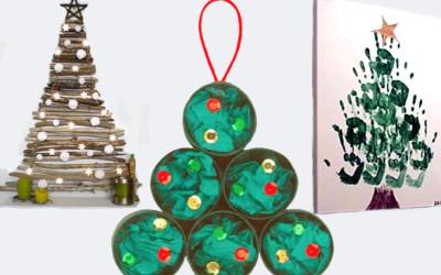 Arboles para una Navidad creativa